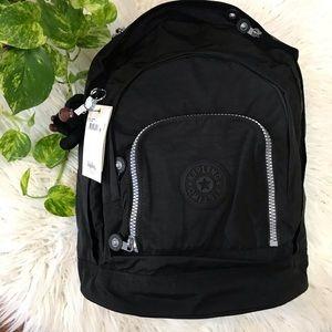 🌿Black Harper Oversize Expandable Backpack